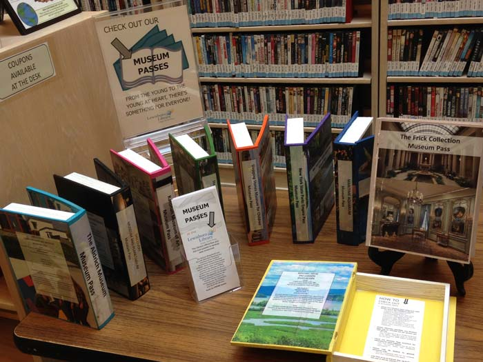 Museum Passes at Lewisboro Library