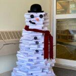 Snowman of Books