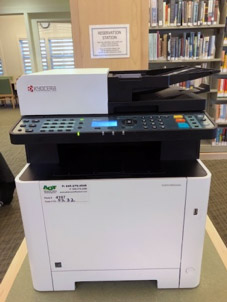 Lewisboro Library copier/scanner