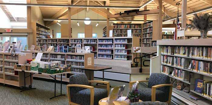 Interior Lewisboro Library