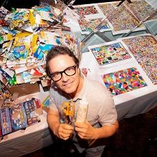 Michael Albert with Craft Supplies
