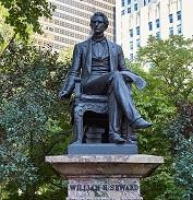 William Seward's Statue in NYC