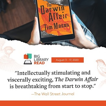 The Darwin Affair on an iPad