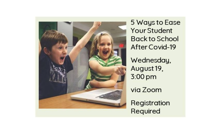 Ease Your Child to School after Covid