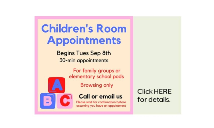 Children's Room Appointments