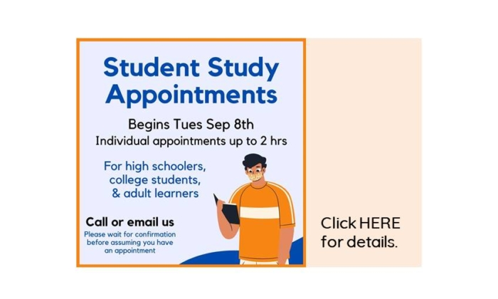 Study Appointments