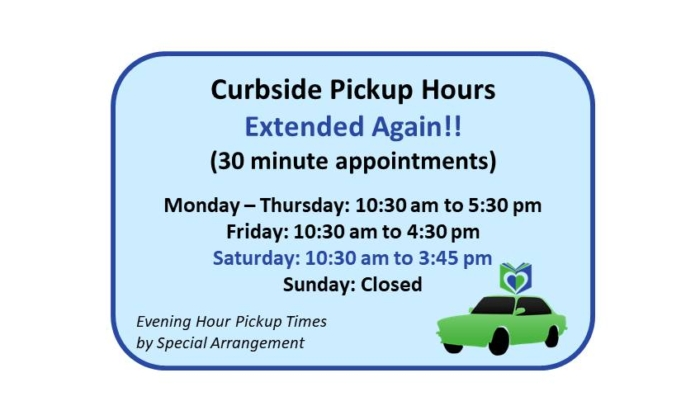 200914 Curbside Pickup Hours Extended Again