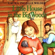 Book COver of family in log cabin