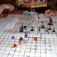 Dungeons and Dragons Board