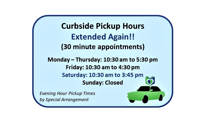 Curbside Pickup Hours Extended Again