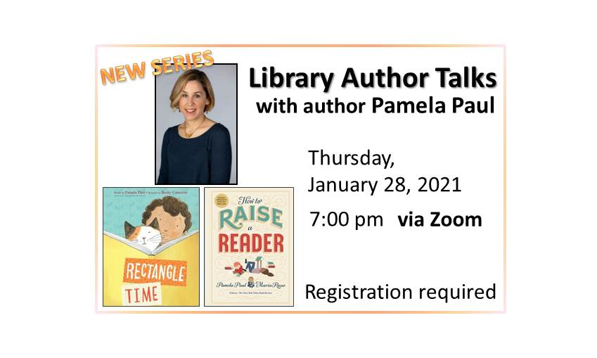 210128 Author Talks Pamela Paul
