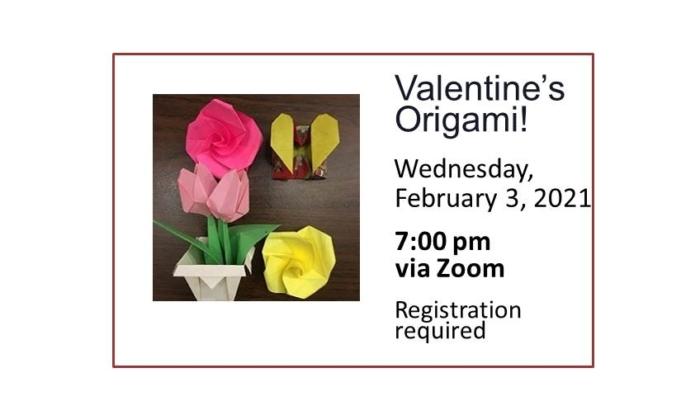 Valentine's Origami event