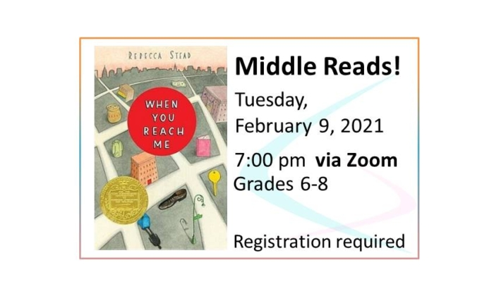 Middle Reads event