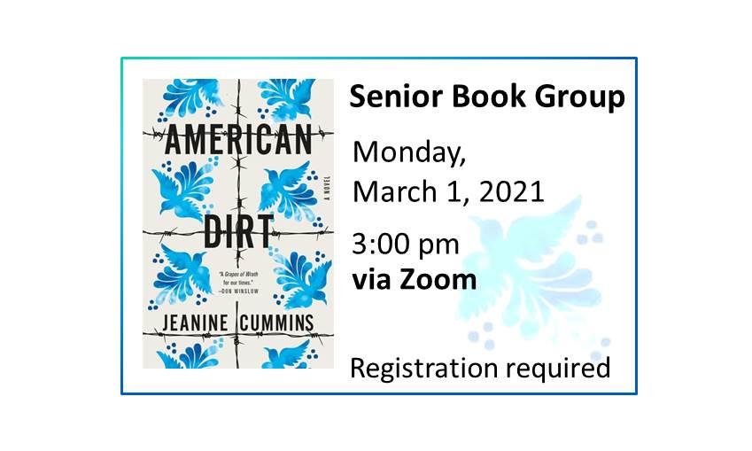 210301 Senior Book Group event