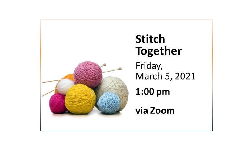 210305 Stitch Together Slider event