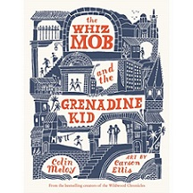 book jacket of The Whiz Mob and the Grenadine Kid