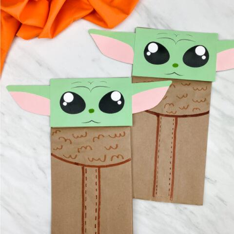 puppets made from paper bags