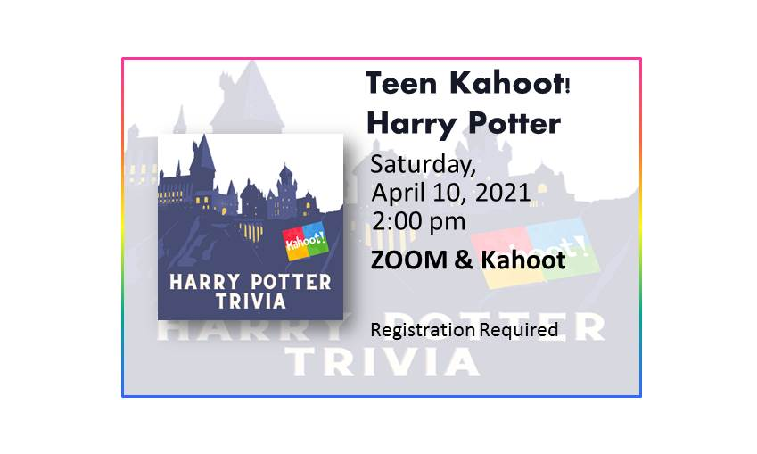 210410 Kahoot Harry Potter Trivia event