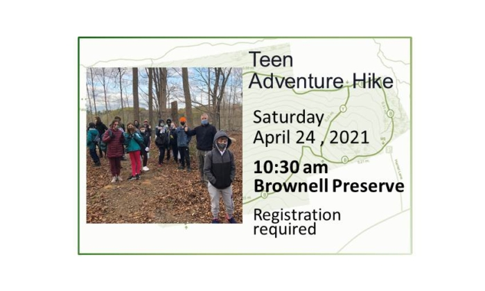 210424 Teen Adventure Hike event