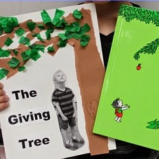 craft project of The Giving Tree
