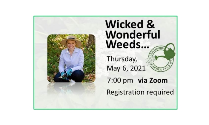 210506 Wicked and Wonderful Weeds event