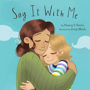 book cover of mother hugging small girl
