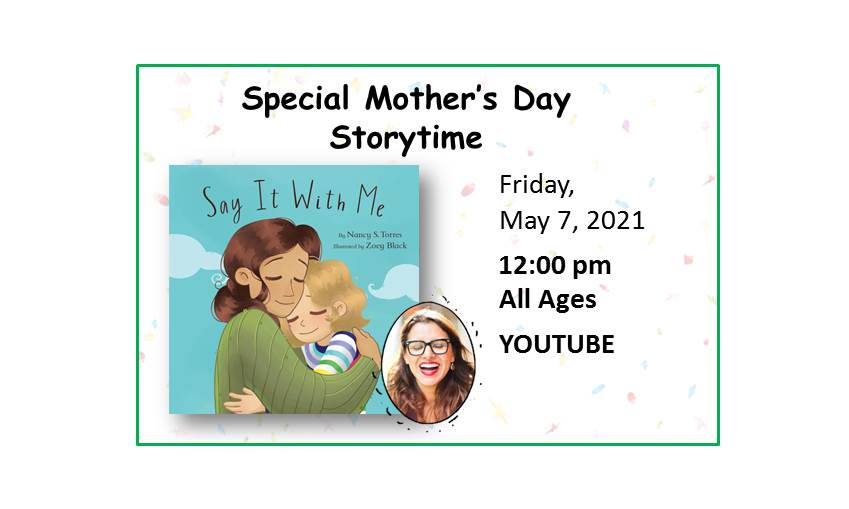 210507 Special Mother_s Day Storytime event
