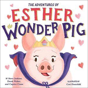 book cover featuring cartoon pig