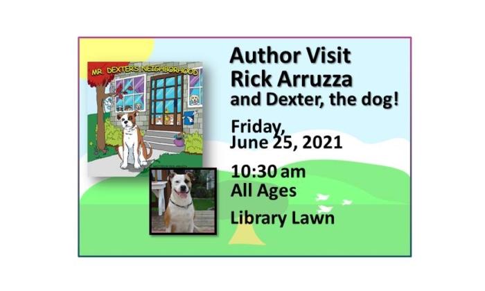 210625 Author Visit Rick Arruzza