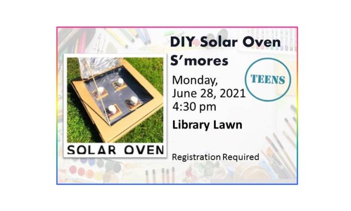 210628 Solar Smores Oven