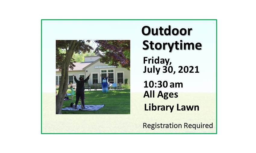 210730 Outdoor Family Storytime