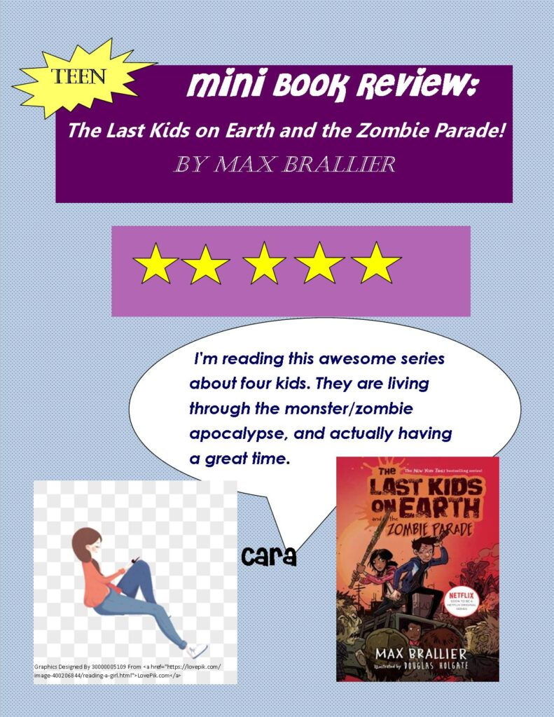 Mini Book Review The Last Kids on Earth and the Zombie Parade!