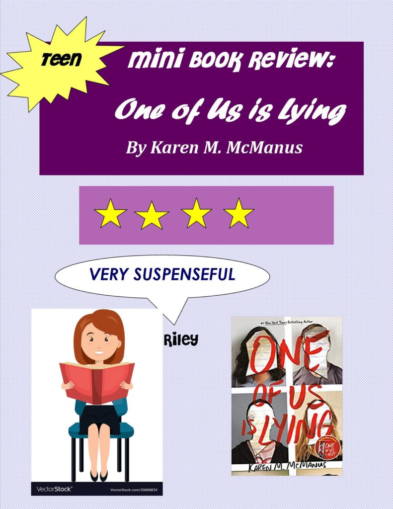 Mini Book Review One of Us is Lying