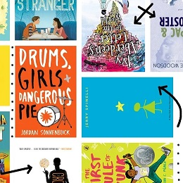 collage of colorful book covers