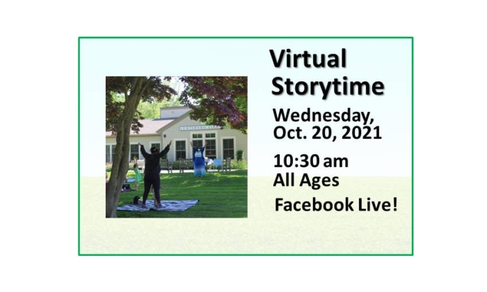 211020 Virtual Family Storytime at 10:30 on Facebook Live