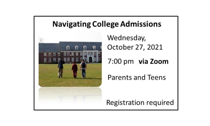 211027 Navigating College Admissions